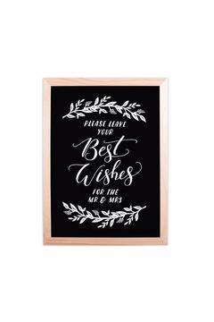 Shoptiques Product: Wedding Wishes Sign