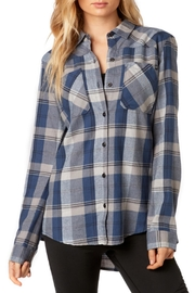 Fox Racing Flown Flannel - Front cropped