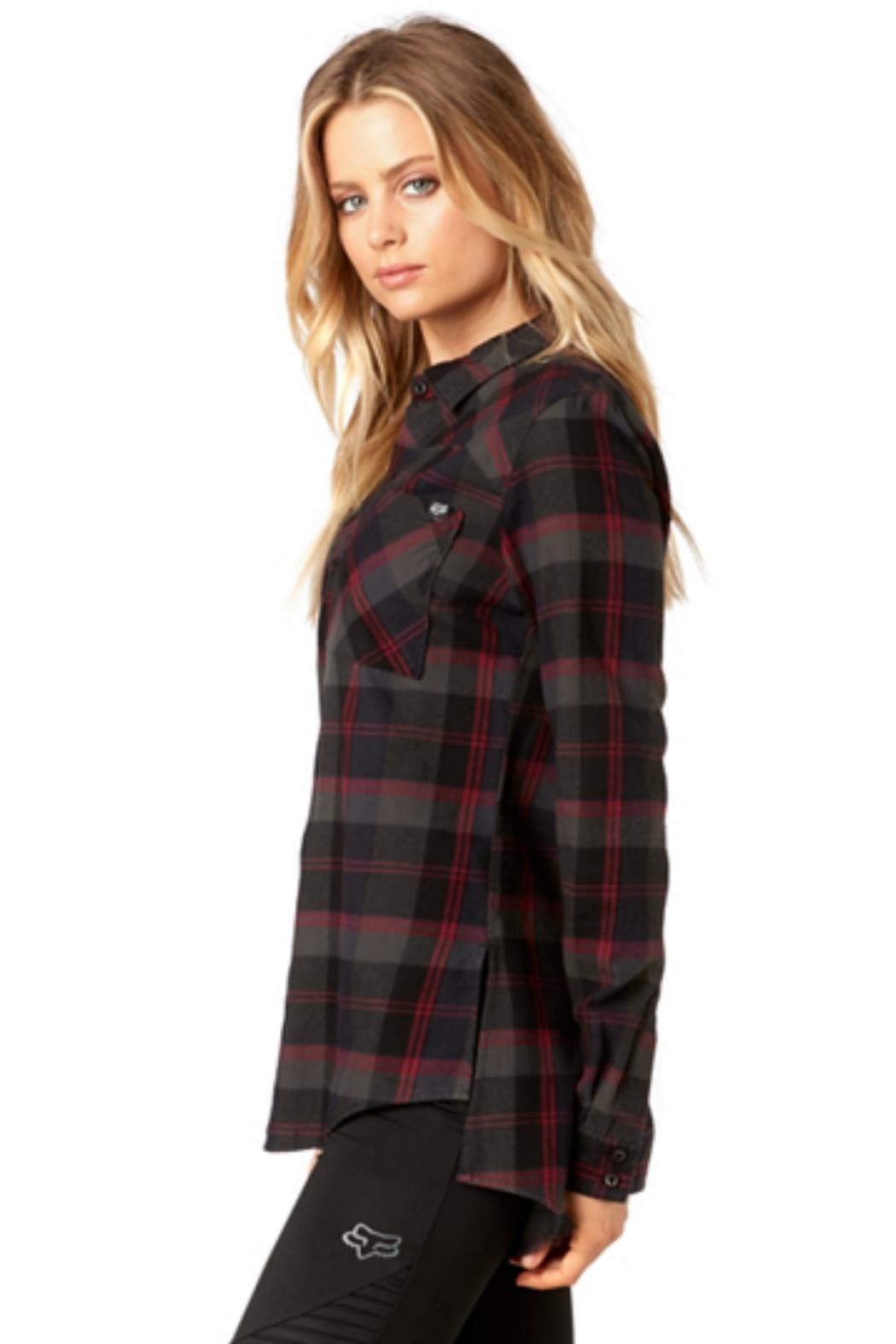 Fox Racing Flown Flannel - Back Cropped Image
