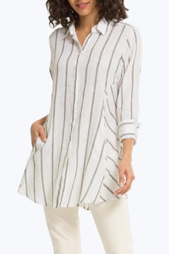 Shoptiques Product: Cici Stripe Tunic Top