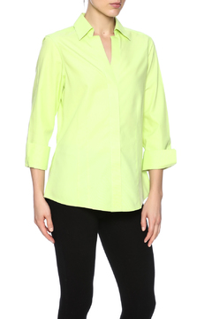 Shoptiques Product: Honeydew Button Up Blouse
