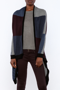Shoptiques Product: Open Colorblock Cardigan