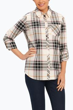 Shoptiques Product: Plaid Herringbone Shirt