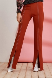 Foxiedox Clay Split Pant - Front cropped