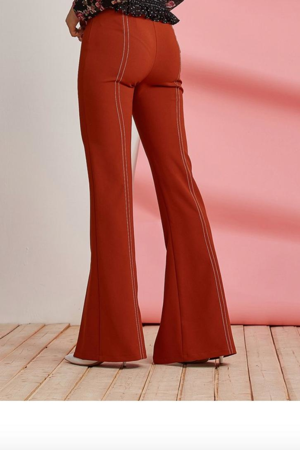 Foxiedox Clay Split Pant - Front Full Image