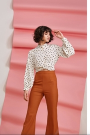 Foxiedox Dorothea Crop Blouse - Front cropped