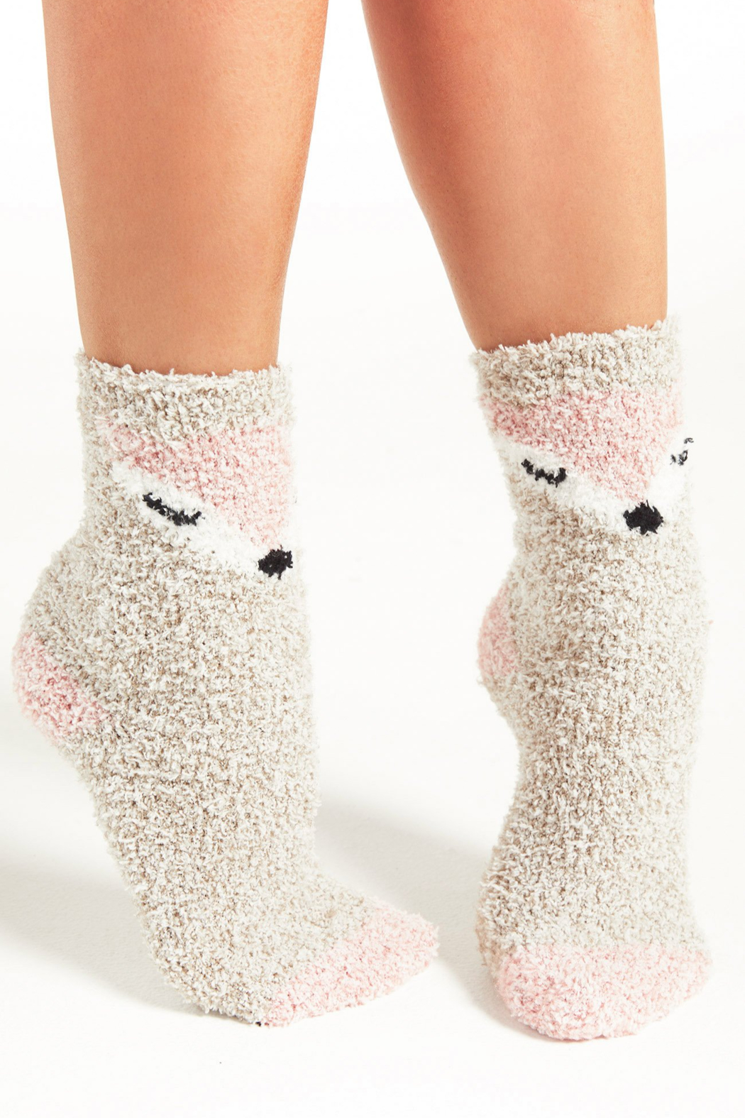 z supply Foxy Plush Socks - Front Cropped Image