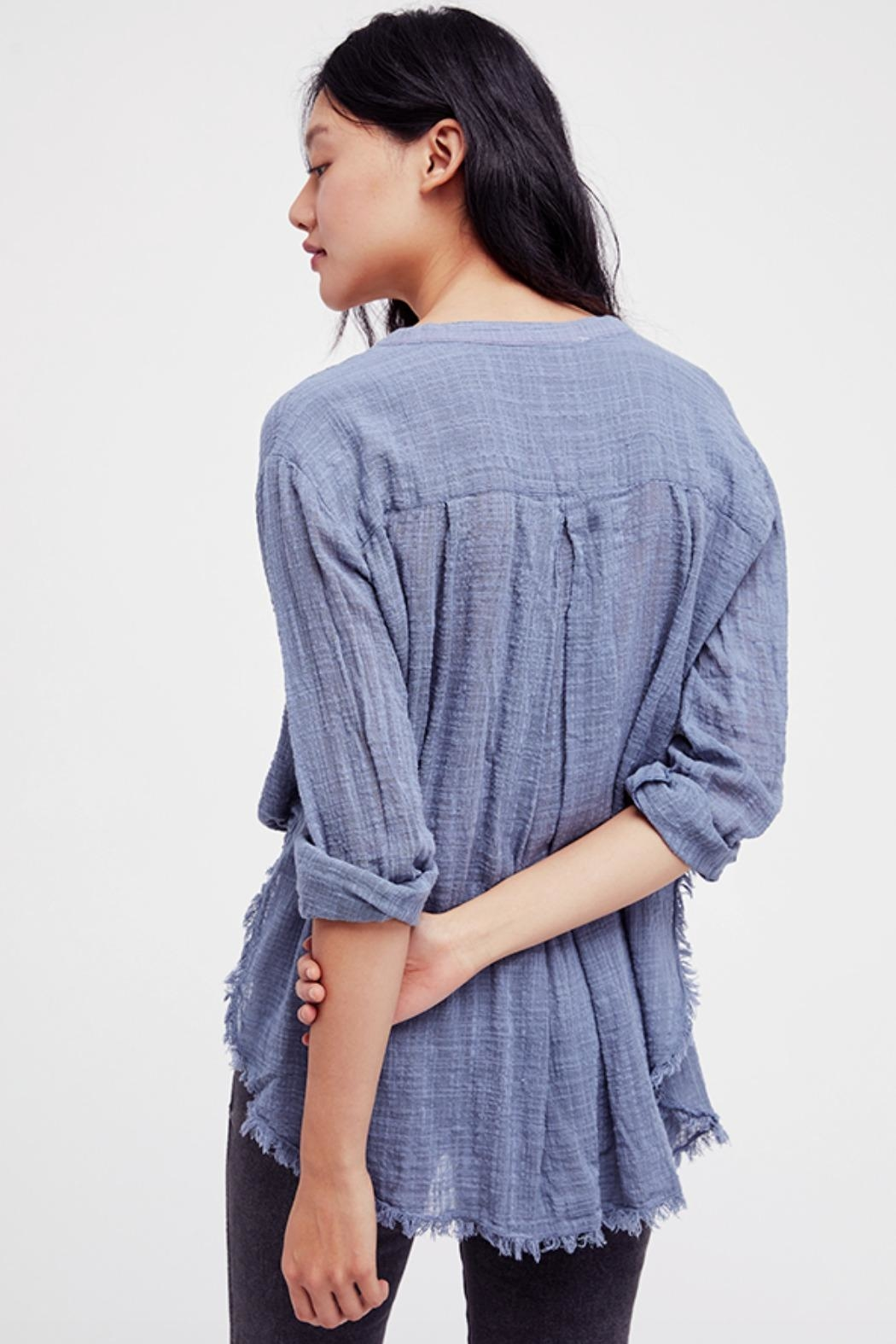 Free People Fp Buttondown - Back Cropped Image