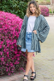 Free People FP One Sasha Tie Dye Kimono - Product Mini Image