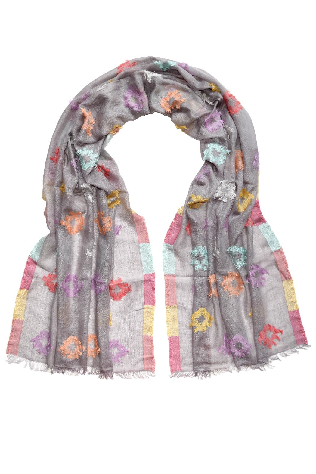 Fraas Fiesta Scarf Taupe - Main Image