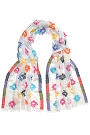 Fraas Fiesta White Scarf - Product Mini Image
