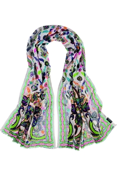 Fraas Folkloric Floral Scarf - Alternate List Image