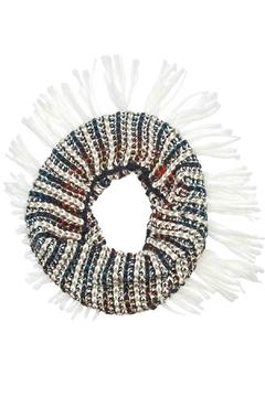 Shoptiques Product: Fringe Collar Ivory