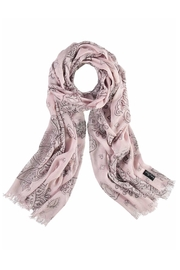 Fraas Metallic Patchwork Scarf - Product Mini Image