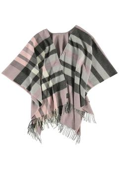 Fraas Plaid Ruana Wrap - Alternate List Image