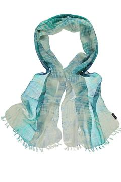 Shoptiques Product: Sunset Blue Scarf