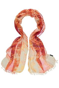Shoptiques Product: Sunset Orange Scarf