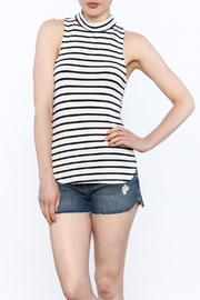 frame Striped Sleeveless Top - Product Mini Image