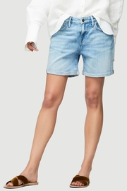 FRAME Denim Embroidered Cuff Short - Product Mini Image