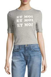 FRAME Denim Et Moi Tee - Product Mini Image