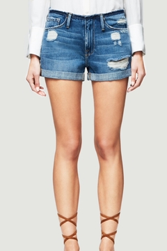 FRAME Denim Frayed Waist Shorts - Product List Image