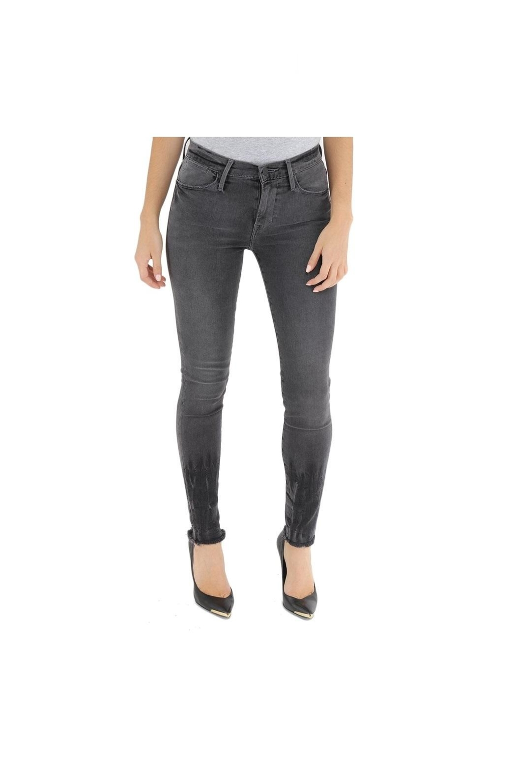 FRAME Denim High Skinny Grant - Front Cropped Image