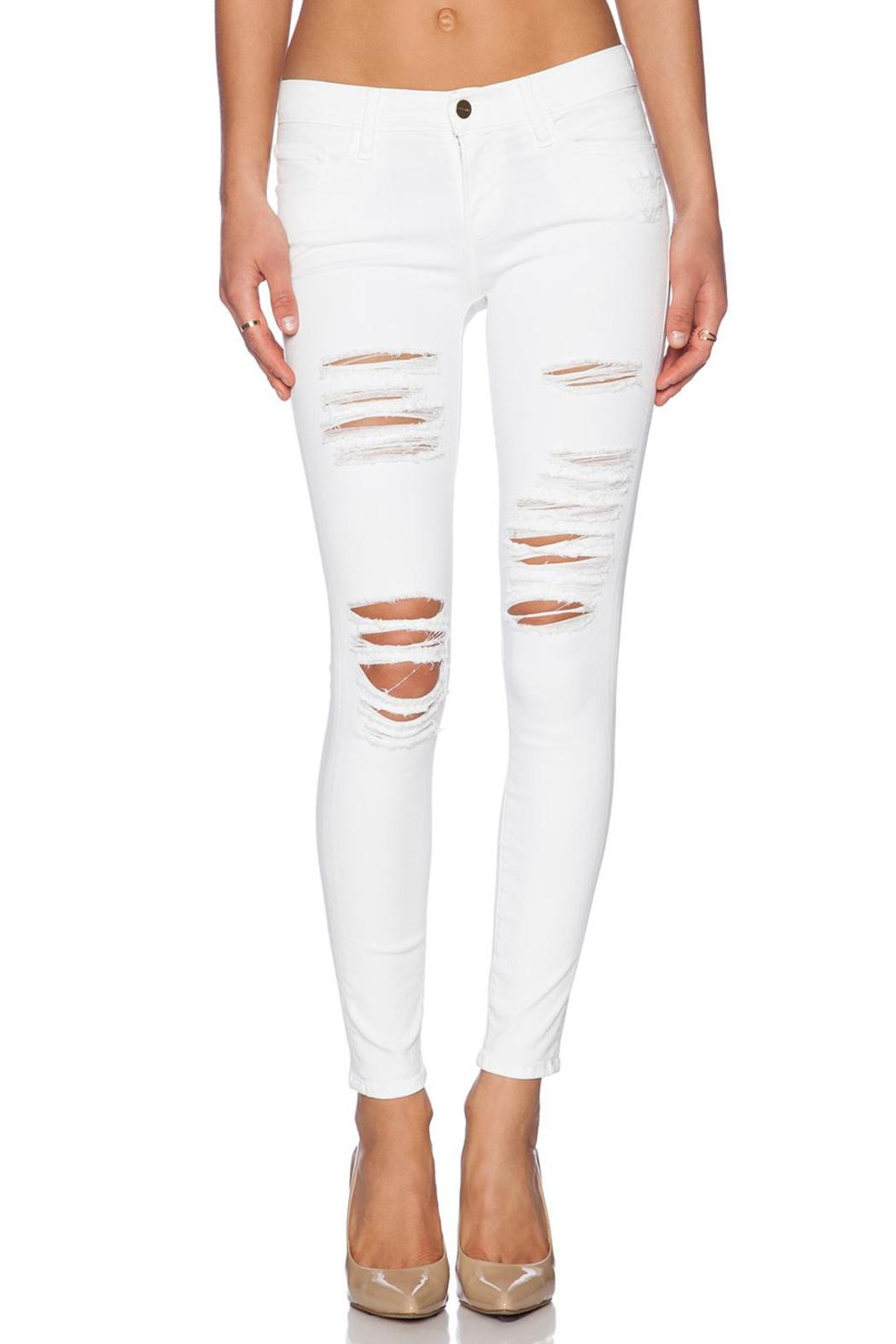 FRAME Denim Le Color Ripped Jeans from Virginia by TSALT — Shoptiques