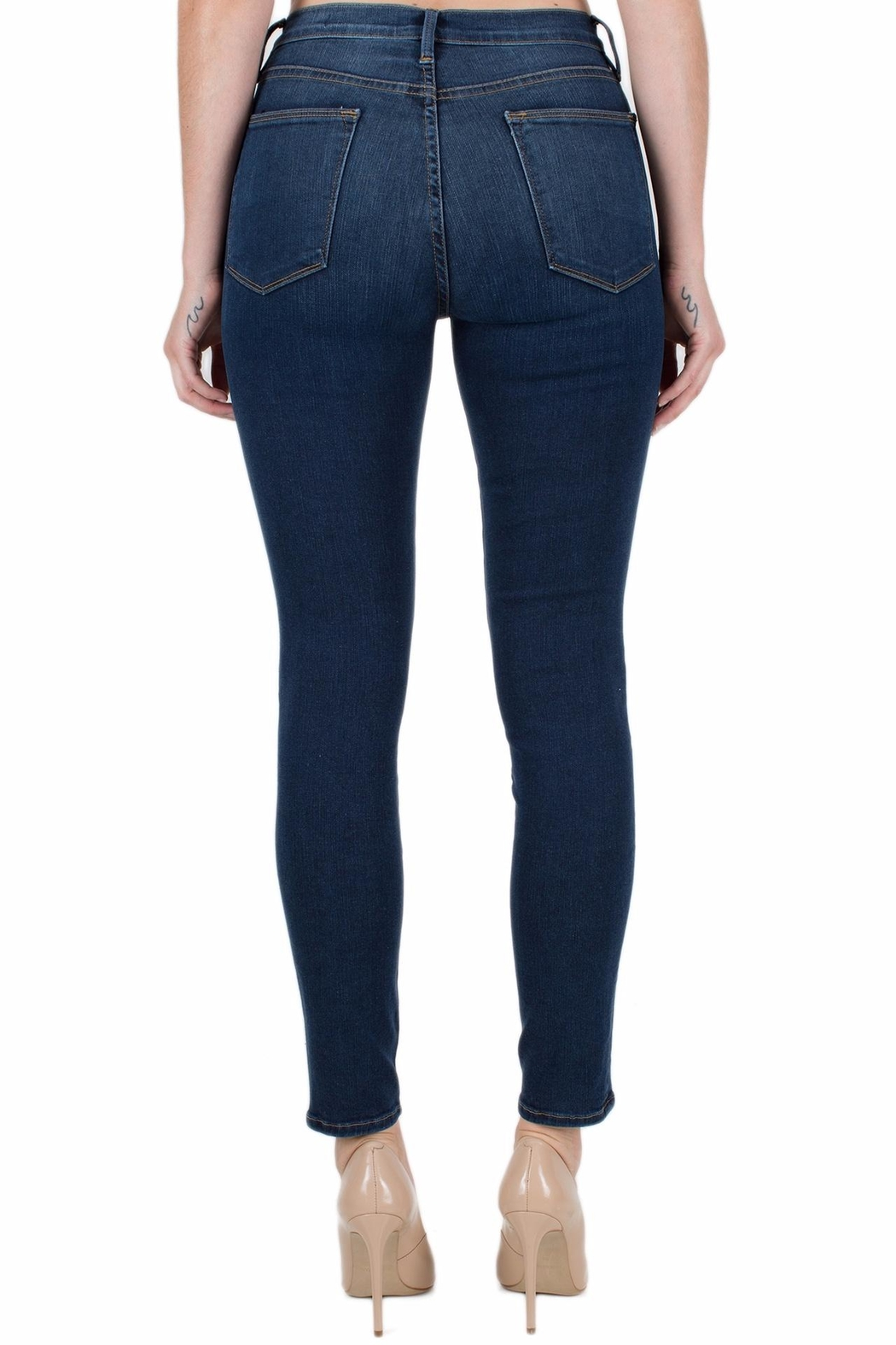 FRAME Denim Le High Skinny - Side Cropped Image