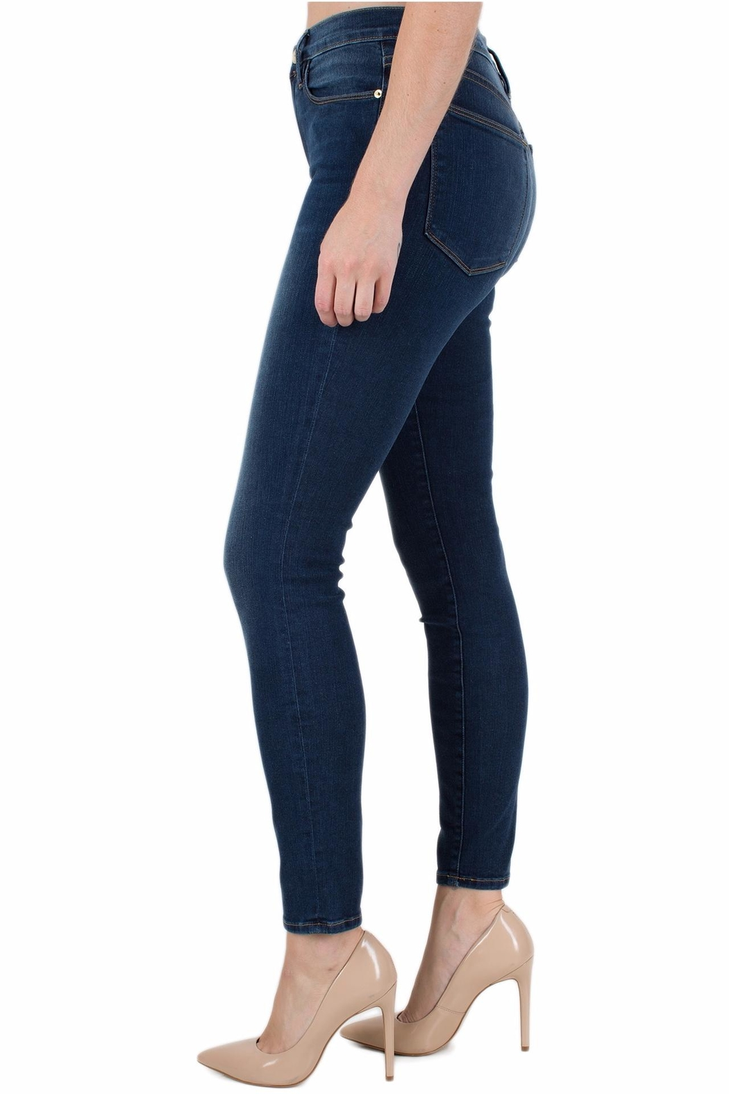 FRAME Denim Le High Skinny - Front Full Image