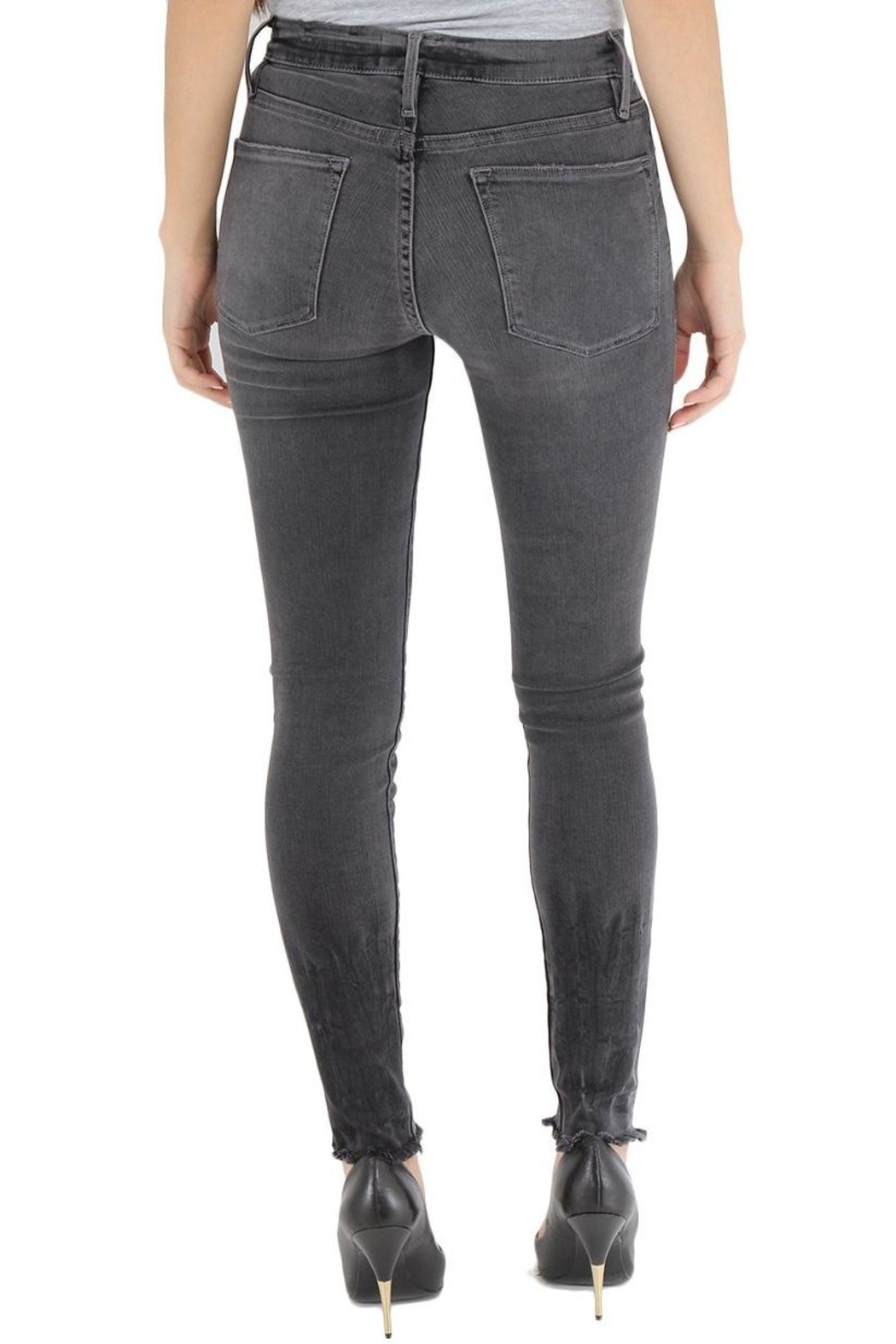 FRAME Denim Skinny Raw Edge from Seattle by Canopy Blue — Shoptiques