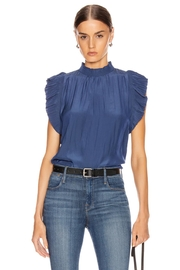 FRAME Denim Sleeveless Ruffle Top - Product Mini Image