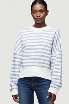 FRAME Denim Striped Sweater - Product List Image