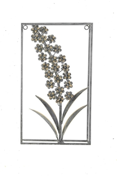 Shoptiques Product: Framed Metal Foxglove