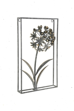 Shoptiques Product: Framed Metal Hydrangea