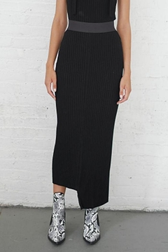 THE RANGE NYC Framed Rib Skirt - Alternate List Image