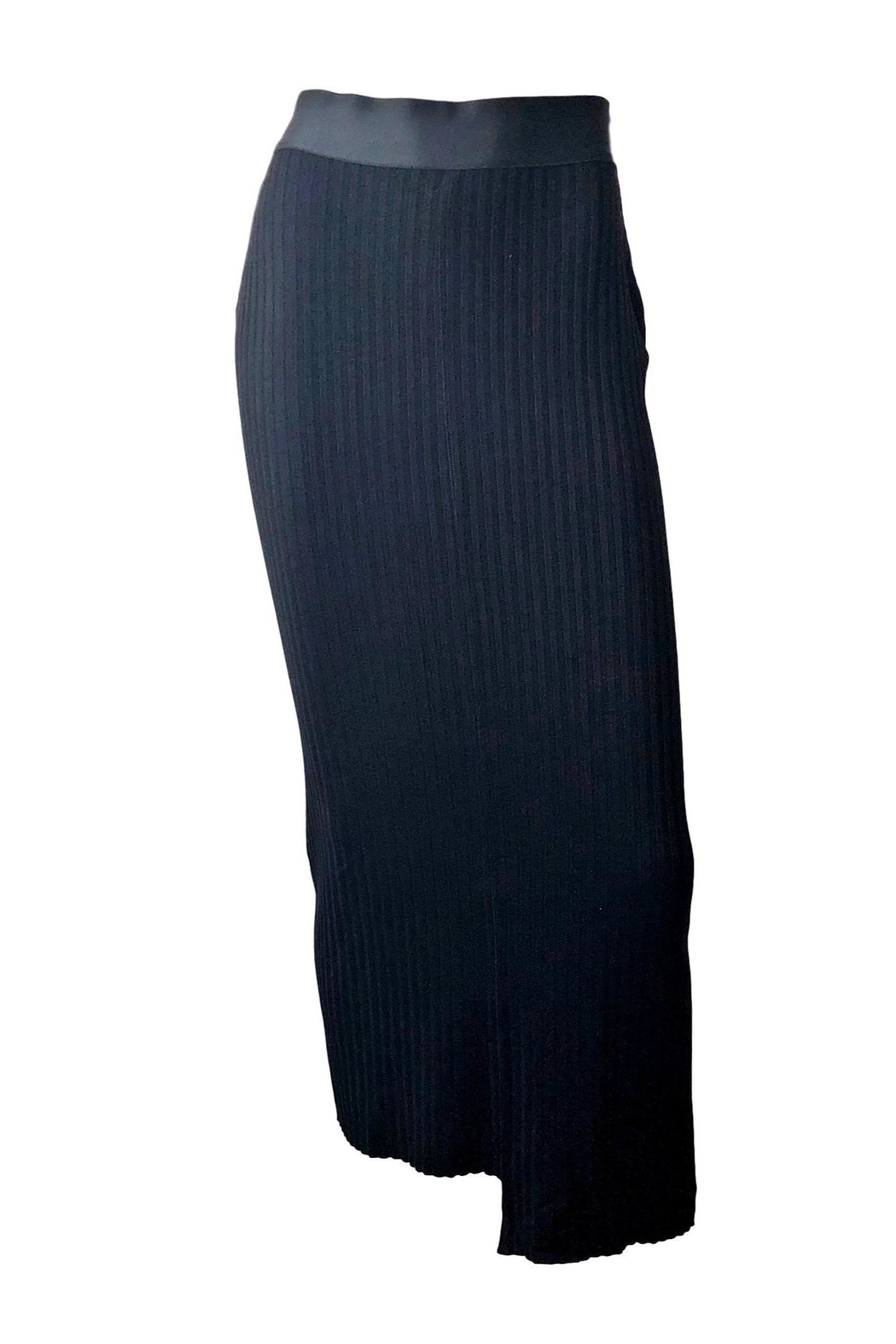 THE RANGE NYC Framed Rib Skirt - Front Cropped Image