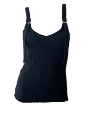 THE RANGE NYC Framed Rib Tank - Front cropped