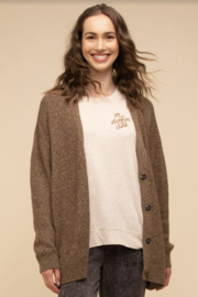 Thread & Supply Frances Cardigan - Front cropped