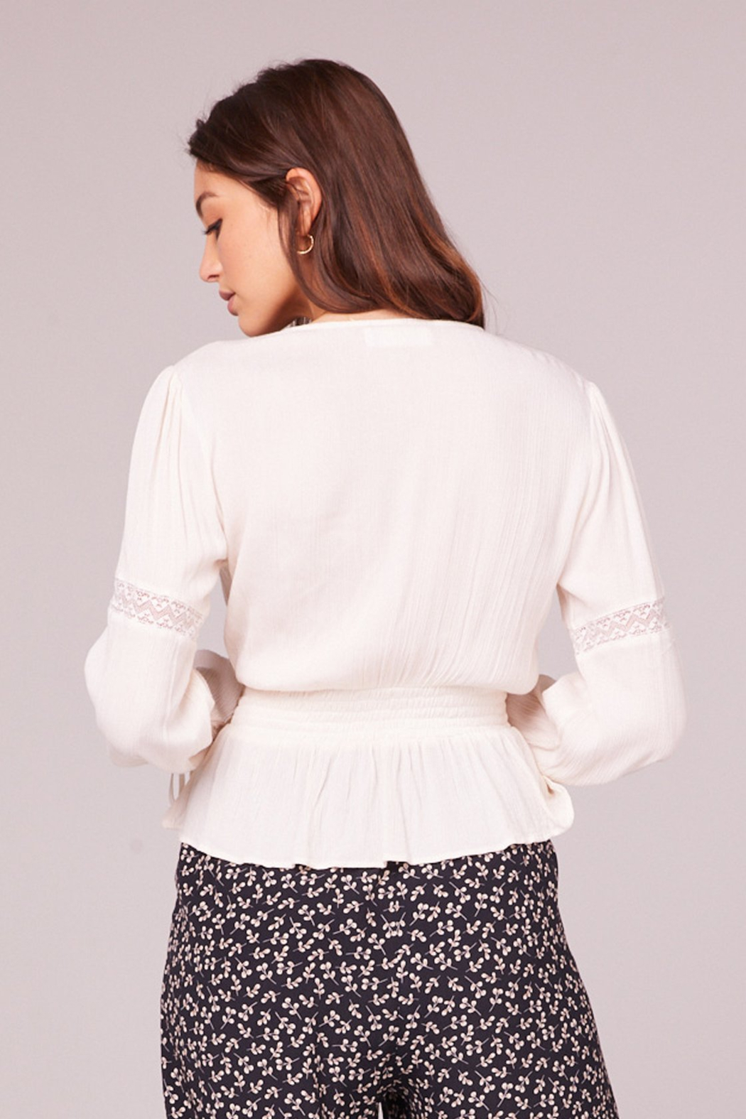 Band Of Gypsies Francesca Blouse - Side Cropped Image