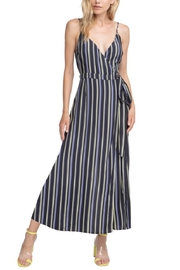 ASTR Francis Stripe Jumpsuit - Product Mini Image