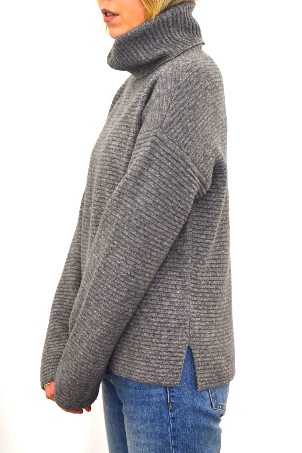 Gentle Fawn Francis Turtleneck Sweater - Back Cropped Image