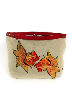 Shoptiques Product: Embroidery Fish Bag