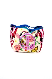 FRANCIS MARTINEZ Floral Camo Bag - Front cropped