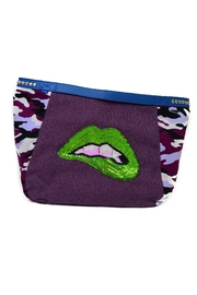 FRANCIS MARTINEZ Green Lips Bag - Product Mini Image