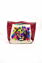 FRANCIS MARTINEZ Painted Lion Bag - Product Mini Image