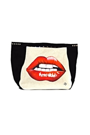 FRANCIS MARTINEZ Red Lips Bag - Front cropped