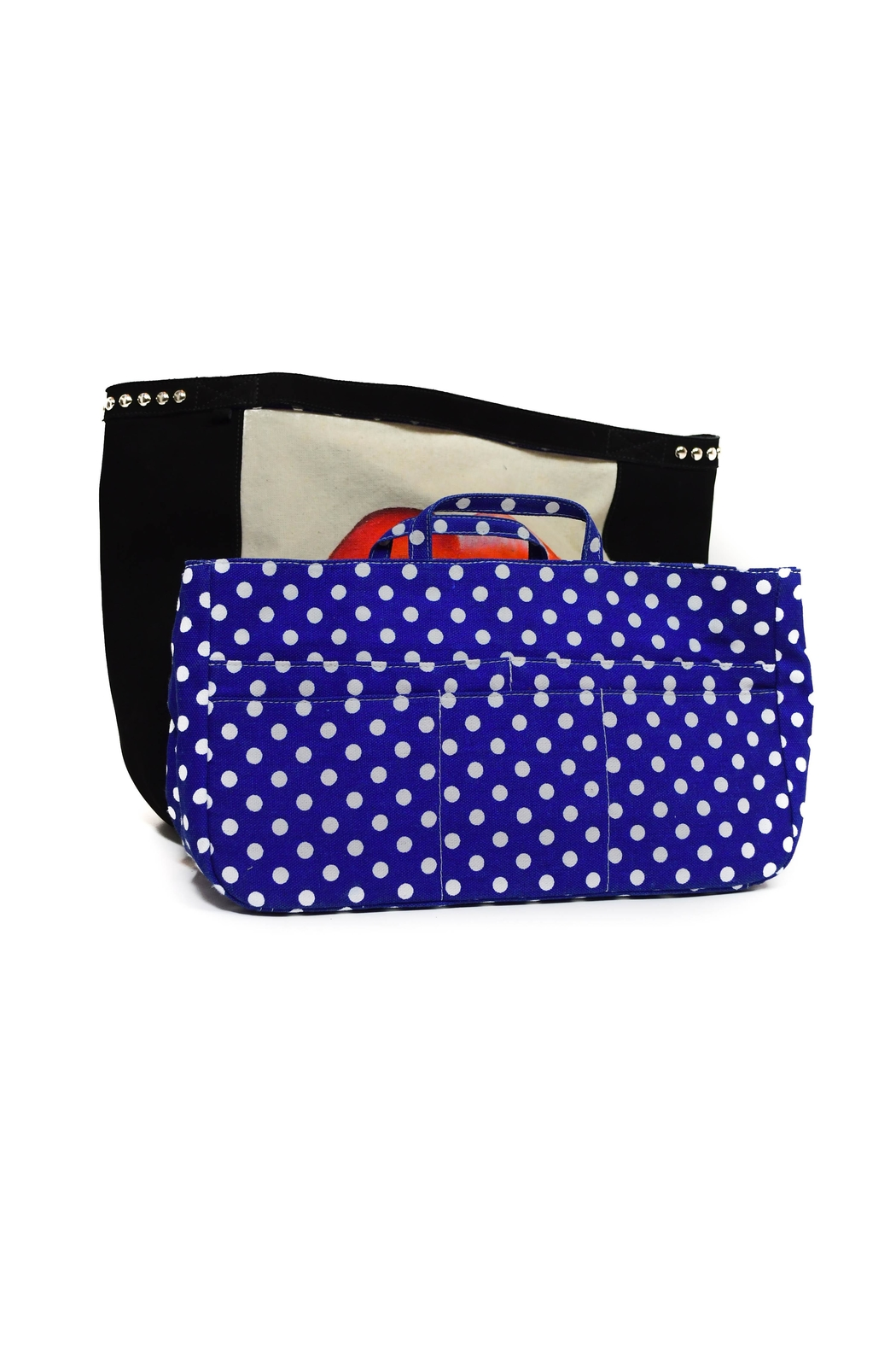 FRANCIS MARTINEZ Red Lips Bag - Side Cropped Image