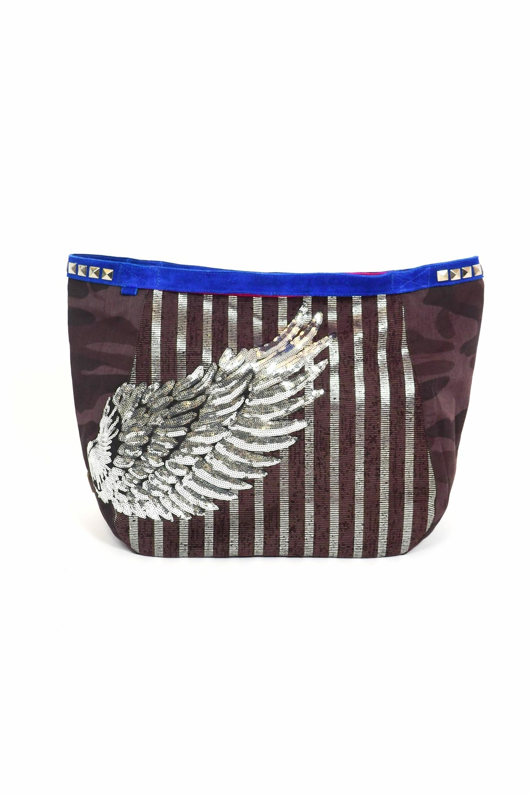 FRANCIS MARTINEZ Sequins Wings Bag - Main Image