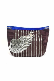 FRANCIS MARTINEZ Sequins Wings Bag - Front cropped