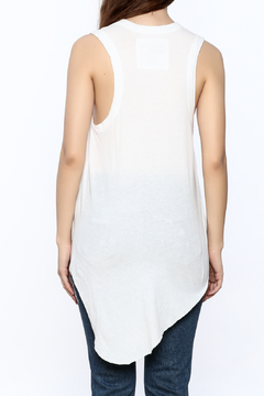 Frank & Eileen White Muscle Tunic Top - Alternate List Image